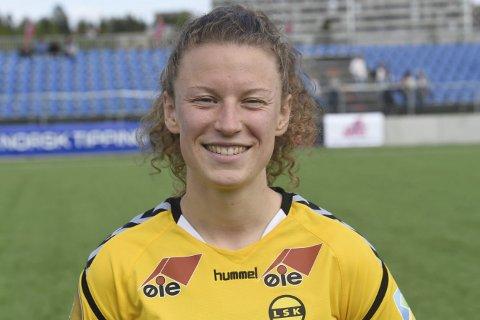 SCORET: Synne Skinnes Hansen scoret ett av LSKs mål, da de tok den tolvte strake seieren.