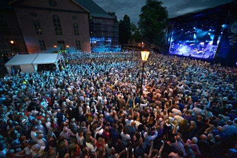 STØRSTE KONSERTEN EVER: A-ha-konserten er den største konserten i festivalens historie.