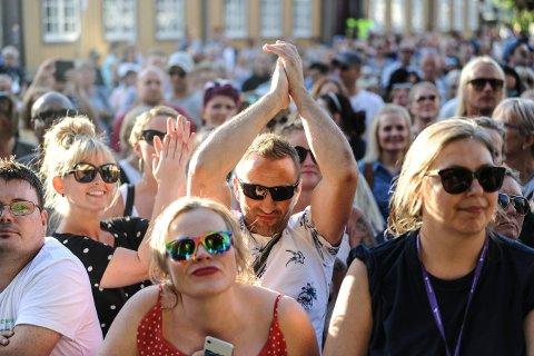 AVLYST: Kongsberg jazzfestival er over for denne gang. Her fra CC Cowboys lørdag kveld.