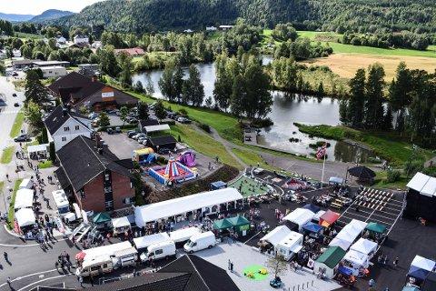 LIV OG RØRE: Hvittingfossmarken 51 meter fra bakken. Bildet er fra 2016.