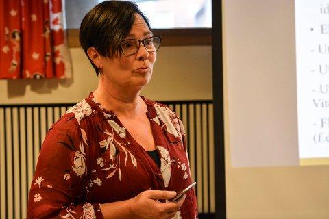 Utvalg for kultur og oppvekst. Rektor ved Kongsberg kulturskole, Irene Bjørnnes. Foto: Mona Sandviken
