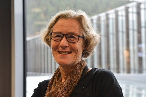 BOKGILDE: Biblioteksjef i Kongsberg, Elisabeth Bergstrøm, skal fortelle om noen av sine favorittbøker om kvelden torsdag 13. september.