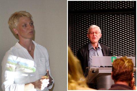 I KKE-STYRET: Anne Rygaard (H) og Halfdan Glørud (Kbl) sitter begge i KKE-styret. Glørud fungerer nå som leder. De mener de fikk et annet bilde av personalsaken etter å ha lest revisjonsrapporten.