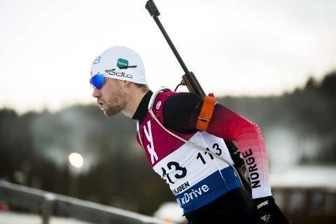 25. PLASS: Erlend Øvereng Bjøntegaard ble nummer 25 på jaktstarten i verdenscuprennet i tyske Oberhof lørdag.
