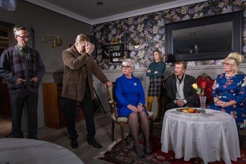 fra venstre: Arve Eig Akervold, Thorbjørn Save, Nina Søia, Mari Evjen Jørstad, Morten Løvdal og Unni Bjertnes Imingen.