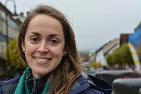 VOKALIST: Maria Riveros blir å høre på Nymoensenteret og Flesbergtunet mandag.