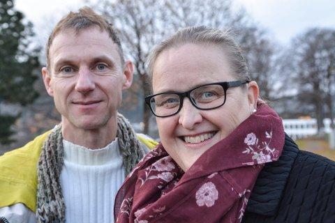 KONSERT: Matthias Anger og Hide Wedde samt resten av  Kongsberg kantori skal framføre Bachs Juleoratorium i Kongsberg kirke 8. desember. De håper på mye folk i kirken.
