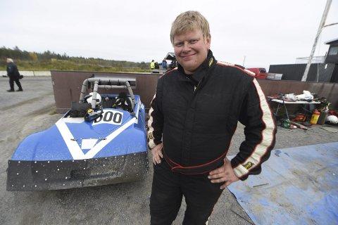 LANDSFINALEARRANGØR: Kim Andre Teigen og NMK Kongsberg skal arrangere landsfinalen for damer i bilcross i 2021.