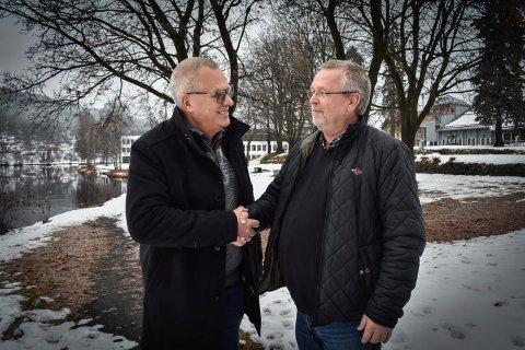 NY LEDER: Vidar Grønli slutter - Tore Bjerknes overtar  som leder av Blefjell Løypeforening.