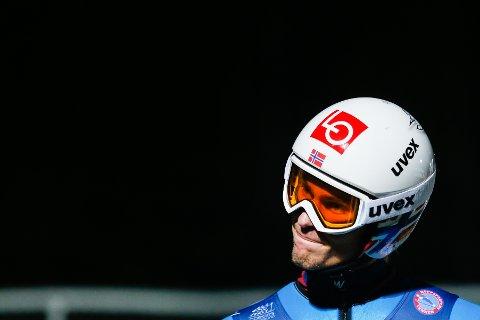 INGEN VM-TUR: Daniel-André Tande er ikke med i troppen til VM i Seefeld. Foto: Fredrik Hagen / NTB scanpix