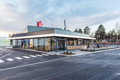 SLIK BLIR DET: Restauranten i Kongsberg blir noenlunde lik denne Max-restauranten som ligger i Gävle i Sverige.