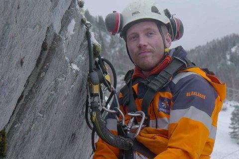 Kjetil Dahl Nørstebø i TV-serien Ras.