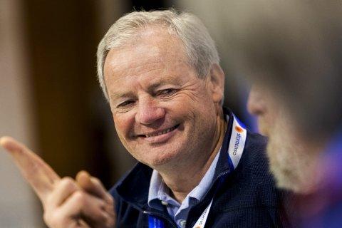 I VM-BYEN: Per Bergerud vant storbakkerennet i Innsbruck i 1985 og er til stede i Seefeld sammen med skilegenden Juha Mieto.