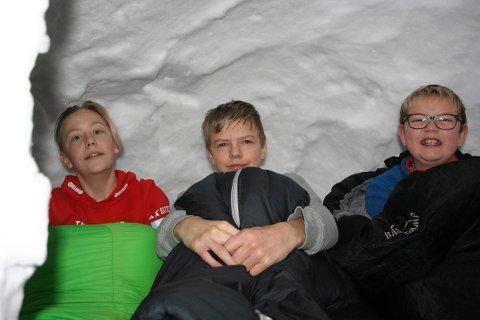 Daniel Ringstad, Kristoffer Brenna og Anders Bjørndalen