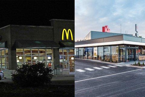BURGERPORTEN:  McDonalds og Max vil pryde inngangen til Kongsberg. Begge kjedene vil etablere seg i det samme området ved nye E134.