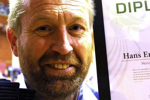 FORNØYD: Stevneleder Hans Engebretsen er godt fornøyd med deltakelsen.