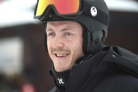 BEST: Stian Sivertzen vant lørdagens norgescuprenn i brettcross i Funkelia. Nå gleder han seg til NM til uka.