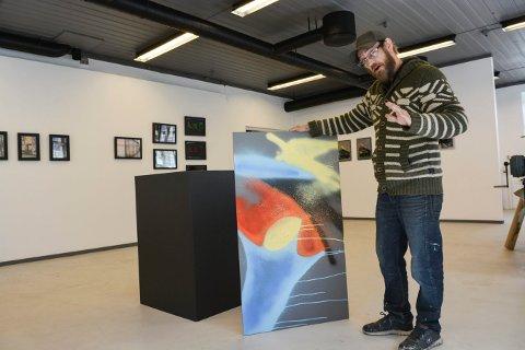GRAFFITTI: Kenneth Stordalen startet å lage graffitti da han var i tenårene. Det har han fortsatt med.