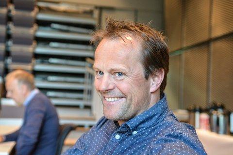 FORNØYD: Kjetil Grongstad fikk endelig klarsignal til å gå i gang med boligplanene ved Påterud på Heistadmoen.