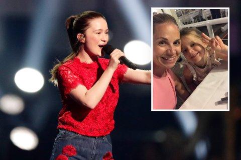 SIGRID-FAN: Hanne R. Gangsø (innfeldt bilde) la fra seg planene om å gi datteren Mille (6) konsertbillett for å se artisten Sigrid, da hun fant ut hvor mye det kostet.