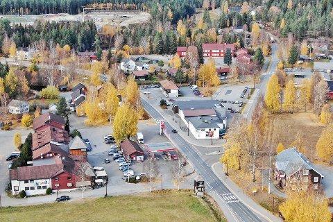 Veiforkjemperne ønsker seg en vei fra Hokksund hit til Lampeland. Dermed sparer man 20 minutter fra Drammen eller Oslo.