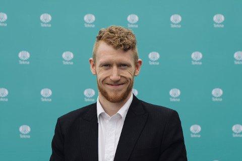 Inn i styret: Bjørn Harald Snersrud fra Kongsberg er valgt inn i Tekna-styret.