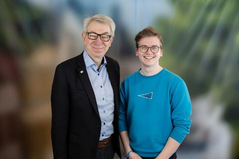 Helge Evju og Simen Murud