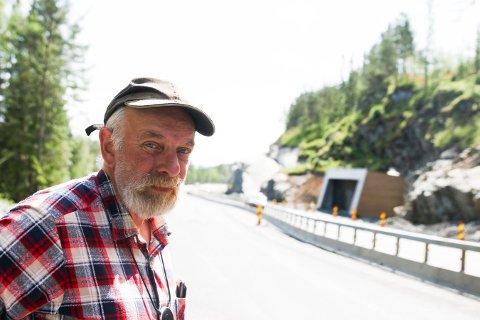 Runar Lande bor på Meheia og reagerer på det han mener er dårlig planlegging fra Statens vegvesens side.