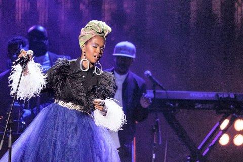 VERDENSSTJERNE: Lauryn Hill inntar Kirkekorget torsdag kveld.