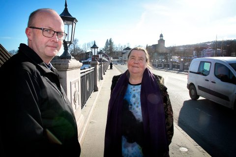 Veslemøy Fjerdingstad blir å se i Kongsberg kommunestyre for Kongsberglista, blant annet med Anders Næss.