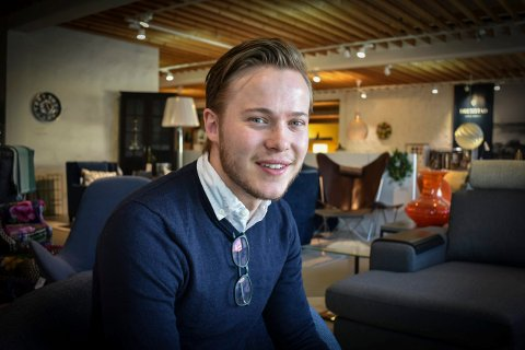 NY DAGLIG LEDER: Harald Nestvang er barnebarnet til Birger Nestvang, som startet Møbel-Design for 50 år siden.