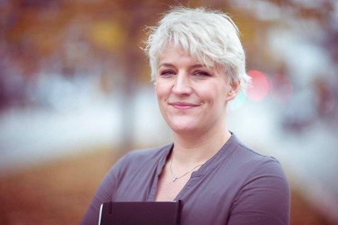 NY BOK: Camilla Otterlei fra Kongsberg er aktuell med en ny barnebok.