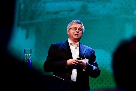 Egil Haugsdal, konserndirektør i Kongsberg Maritime. Bildet ble tatt ved en tidligere anledning.