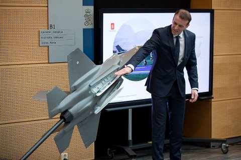 Eirik Lie, konserndirektør i Kongsberg Defence & Aerospace, fortalte tirsdag om mulighetene for nye kontrakter de neste årene. Bildet ble tatt ved en tidligere anledning.