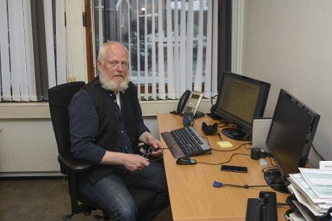 Einar Braaten, som er kommuneoverlege for Kongsberg, Numedal og Øvre Eiker. Han er ikke urolig for det mye omtalte coronaviruset.