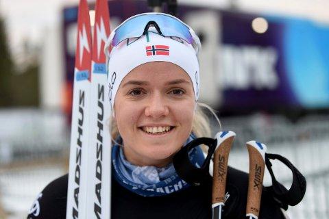 SKJØT GODT: Mari Wetterhus ble nummer 17 på åpningsdistansen i VM.