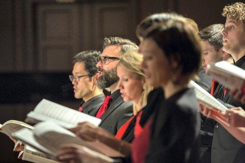 KOMMER TILBAKE: Det Norske Solistkor skal bidra under Glogerfestspillenes avslutningskonsert søndag 26. januar.