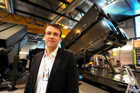 Konserndirektør Eirik Lie og kollegene i Kongsberg Defence & Aerospace får mer å gjøre med luftvernsystemet NASAMS framover. Grunnen er at det legges opp til en oppgradering i Forsvarets langstidsplan.