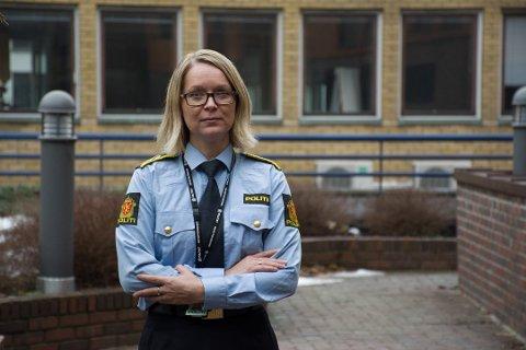 I VARETEKT: Politiadvokat Cecilie Svorstøl ved Sør-Øst politidistrikt opplyser at det trolig blir fengslingsmøte mandag, da de ønsker å varetektsfengsle mannen som nå er siktet for grov kropsskade.