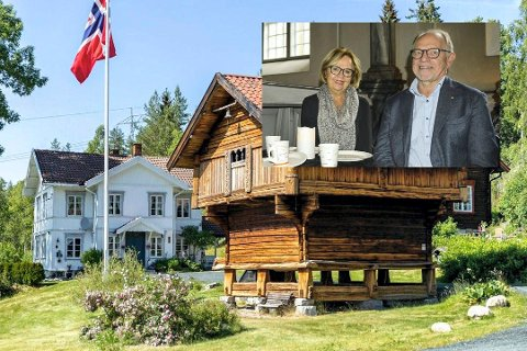 NY VENDING: Torkil og Annemor Bjørnsen har solgt Reshjem gård.