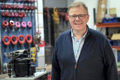 PROSJEKTLEDER: Tommy Hvidsten på Fagskolen Tinius Olsen i Kongsberg tilbyr gode kurs.