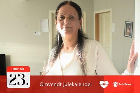 GODT LIV: – Vi hadde et godt liv i Syria, men vi har fått et godt liv i Norge nå, forteller Haifaa Hussein.
