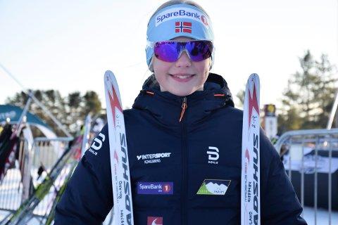 KRETSMESTER: Helene Tegdal gikk andreetappen på Skrims gullag.