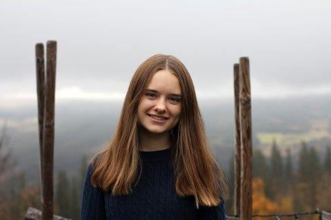 INNSENDEREN: Hanna Linnéa Lindtvedt, leder i Kongsberg Unge Venstre.
