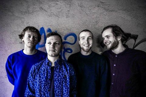CHUCK PEOPLE: Denne unge kvartetten bli å høre i Jazzboksen 2. juli.