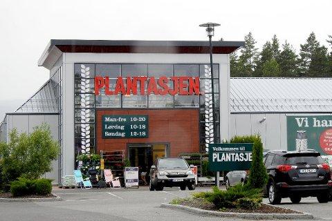 Plantasjen på Kongsberg.