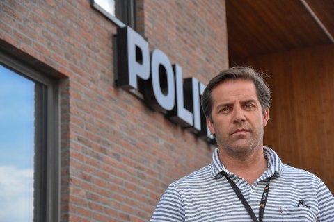 ETTERFORSKER BLEFJELL-ULYKKE: Leder for etterforskningsenheten ved Tønsberg-politiet, Knut Erik Ågrav, etterforsker scooter-ulykken på Blefjell.