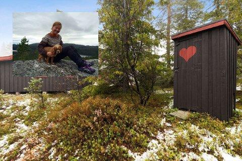 HYTTE: Hilde Haver har tilbrakt mye tid på hytta, men nå er det noen andre som får gleden av den.