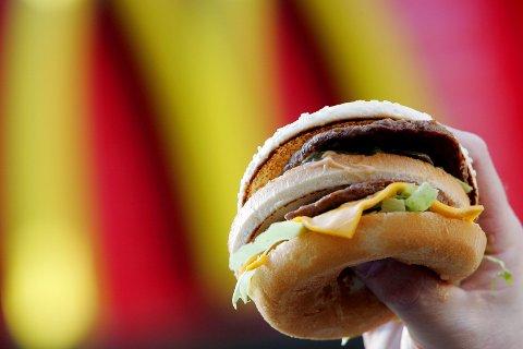 AREALPLAN: McDonalds ser mot Kongsberg, men ingenting er avklart.  Flertallet i politikken ønsket å ha forslaget med i høringen av kommunens arealplan. Fristen for høringen går ut fredag.