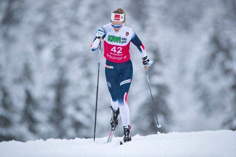PÅ REGIONLAGET: Karoline Simpson-Larsen.  Foto: Geir Olsen / NTB scanpix